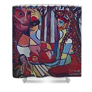 The Unknown Story Shower Curtain