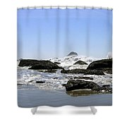 The Untamed Sea Shower Curtain