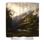 The Upper Nepean  Shower Curtain
