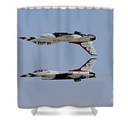 The U.s. Air Force Thunderbirds Shower Curtain