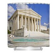 The Us Supreme Court Building Shower Curtain