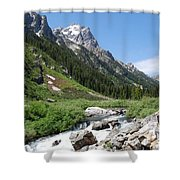 The Valley Beyond Shower Curtain