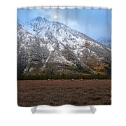 The Valley Floor Shower Curtain