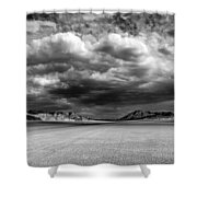 The Valley Of Shadows Shower Curtain