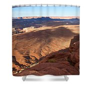 The Valley So Low Shower Curtain