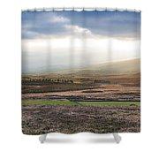 The Valleys In Wicklow Ireland Shower Curtain