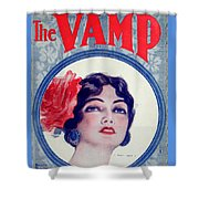 The Vamp Shower Curtain
