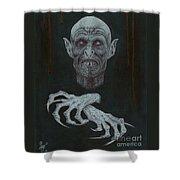 The Vampire Shower Curtain