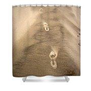 The Vanishing Shower Curtain