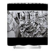 Woman In The Souk Shower Curtain