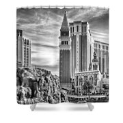 The Venetian Resort Hotel Casino Shower Curtain