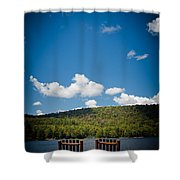 The View From Big Moose Inn Shower Curtain