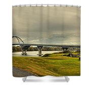 The View From Crown Point New York Shower Curtain
