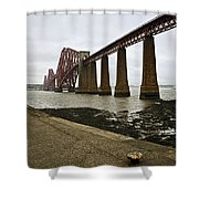 The View Of The Forth Bridge Shower Curtain
