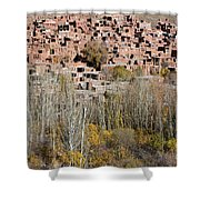 The Village Of Abyaneh In Iran Shower Curtain