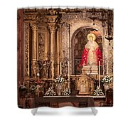 The Virgin Of Hope Shower Curtain