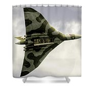 The Vulcan Bomber  Shower Curtain