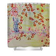 The Walk To A Woman Shower Curtain