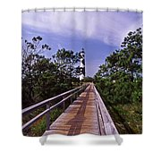 The Walk To Cape Lookout Shower Curtain