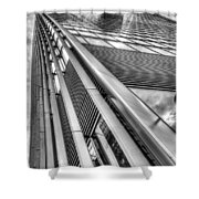 The Walkie Talkie London Shower Curtain