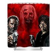 The Walking Dead Shower Curtain