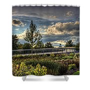 The Walking Path Shower Curtain