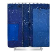 the wall 'VII Shower Curtain