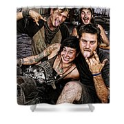 The Wanderers In New Orleans Shower Curtain
