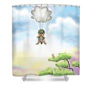 The War Hero Shower Curtain