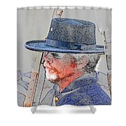 The War Vet Shower Curtain