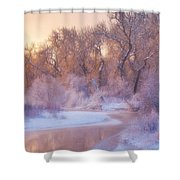 The Warmth Of Winter Shower Curtain