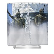 The Warriors Shower Curtain