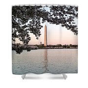 The Washington Monument  Shower Curtain