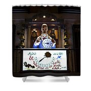 The Watchmaker At Sal Street Shower Curtain