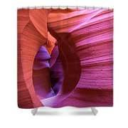 The Watchman In Color Shower Curtain