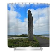 The Watchstone Shower Curtain