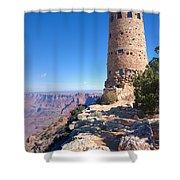 The Watchtower Shower Curtain