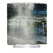 The Water Blue Shower Curtain