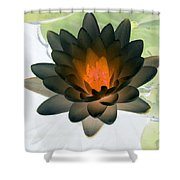 The Water Lilies Collection - Photopower 1035 Shower Curtain