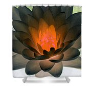 The Water Lilies Collection - Photopower 1036 Shower Curtain