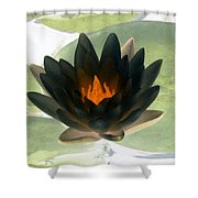 The Water Lilies Collection - Photopower 1037 Shower Curtain