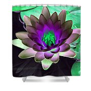 The Water Lilies Collection - Photopower 1114 Shower Curtain