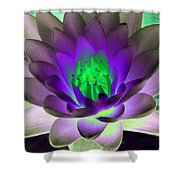 The Water Lilies Collection - Photopower 1115 Shower Curtain