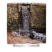 The Waterfall At Hagy's Mill Shower Curtain