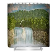 The Waterfall... Shower Curtain