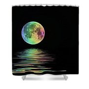 The Water's Light Shower Curtain