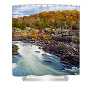 The Waters' Shower Curtain