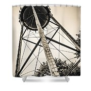 The Water Tower Shower Curtain