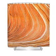 The Wave II Shower Curtain
