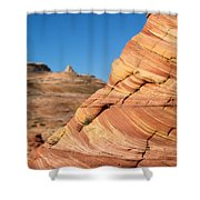'the Wave' North Coyote Buttes 13 Shower Curtain